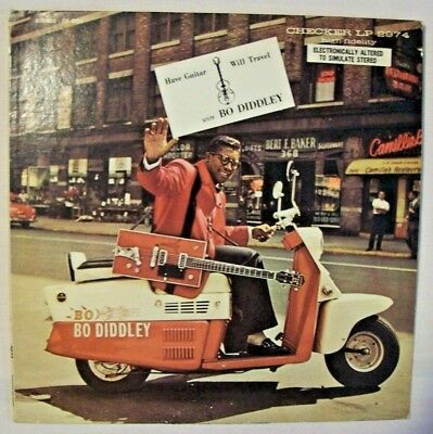 1 LP  BO DIDDLEY   Have Guitar, Will Travel