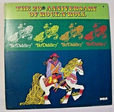 1 LP  BO DIDDLEY   The 20th Anniversary Of Rock'N'Roll   1976