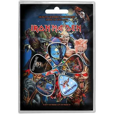 Iron Maiden Later Albums 5 Plectrum Pack (ro)