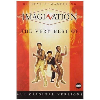 DVD - The Very Best Of - Fonte Records - Imagination
