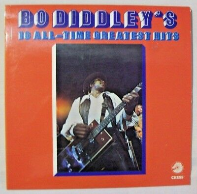 1 LP  BO DIDDLEY   Bo Diddley's 16 All-Time Greatest Hits