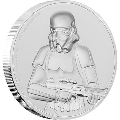 Star Wars Stormtrooper – 2018 2 Oz Ultra High Relief Fine Silver Coin – Niue