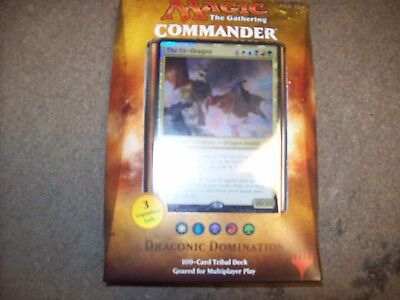 Draconic Domination Mtg 2017 Commander Sealed Deck Free Shipping With Tracking