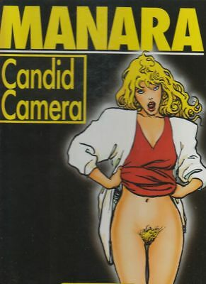 Candid Camera Hardcover Comic von Manara in Topzustand !!!