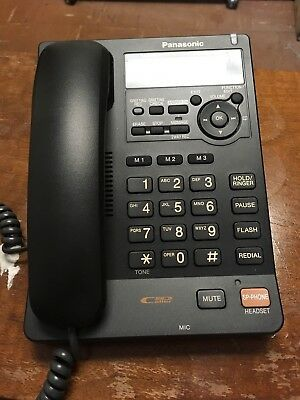 Panasonic Telephone Answering Machine with Caller ID KX-TS620 -BLACK-