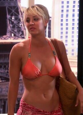Kaley Cuoco Hot Pinup Approx. 3 * 2 Inches Flexible Photo Fridge Magnet