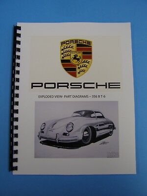 Porsche 356 B t-6 Exploded Views B