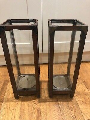 Pair of Antique Chinese Candle Holders - 150yrs old