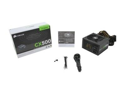 Corsair CX500 500W ATX 80 PLUS Bronze Power Supply PSU