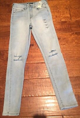 aeropostale womens seriously stretchy high-waisted ankle jegging mom Jeans NWT 2