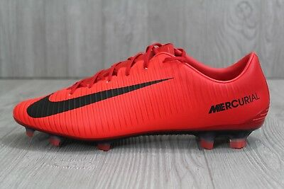 be9b8deae5a 32 New Nike Mercurial Veloce III FG Mens Red Soccer Cleats 847756-616 SZ 6