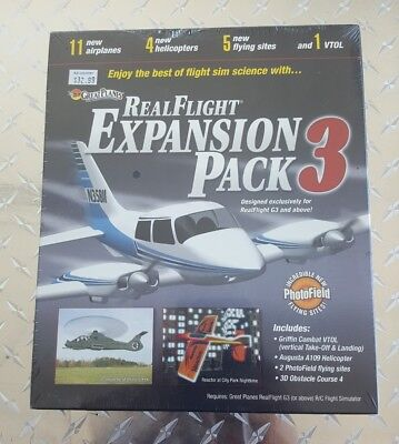 Great Planes Real Flight Expansion G3 Pack 3 GPMZ4113