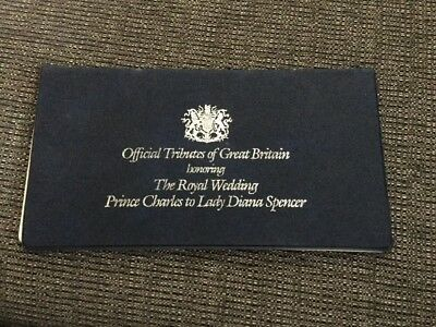 Official Tributes of Great Britain, The Royal Wedding Charles and Diana Spencer