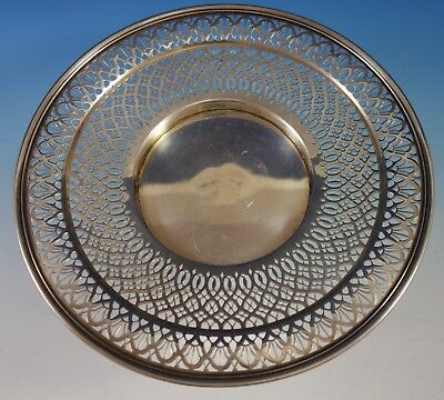 "Tiffany & Co. Sterling Silver Serving Plate Pierced 10 1/2"" Diameter (#2765)"