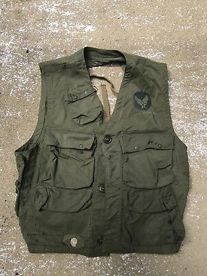 WWII Army Air Forces Vest Emergency Sustenance Type C-1 Lite Manufacturing Co.