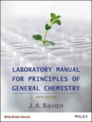Laboratory manual for principles of general chemistry 10e by jo a laboratory manual for principles of general chemistry by jo allan beran fandeluxe Images