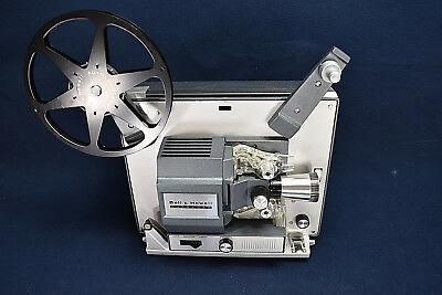 Super 8 PROJECTOR Bell & Howell 357A 357 Mint Condition With Manual/Original Box