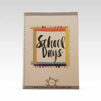 RhiCreative School Days Record Book Photo Milestones Keepsake School Memories