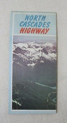 Map of North Cascades Highway, Washington State