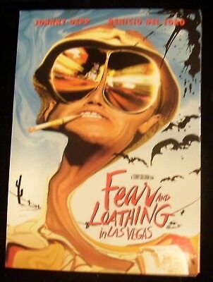 A Vintage 98 Postcard for Movie Fear and Loathing in Las Vegas Depp Del Toro