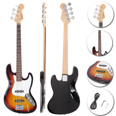 New Sunset Burning Fire Jazz Beginner Practice Electric Guitar