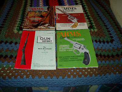 Four Magazines Covering Indian Used Weapons