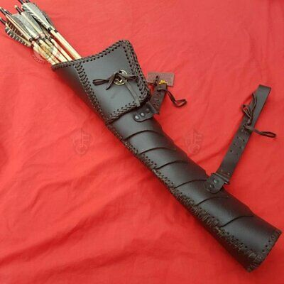 Leather Dragon Scale Quiver