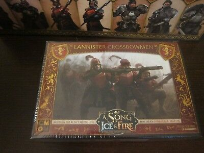 Lannister Crossbowmen GoT A Song of Ice and Fire CMoN Game of Thrones minis &