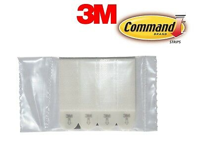 3M Command Damage-Free Picture Hanging Strips - 6 lb Capacity - One Pack of Four