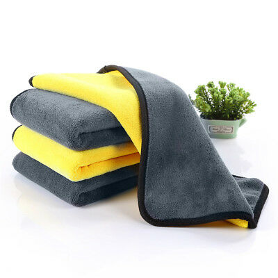 Large Microfibre Cleaning Auto Car Detailing Soft Cloth Wash Towel washcloth