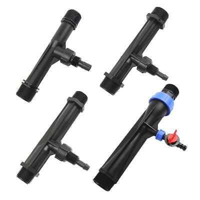 Garden Irrigation Device Venturi Fertilizer Injector Switch Water Tube Kits Tool