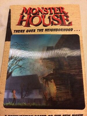 Monster House Book, Based On The Movie