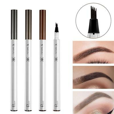 Women Tattoo Eyebrow Pencil Long lasting Waterproof Fork Tip Microblading Makeup