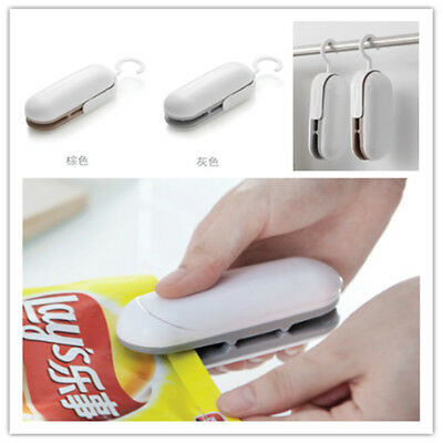 2 in 1 Mini Portable Handheld Heat Sealer for Plastic Bag Cutter and Resealer