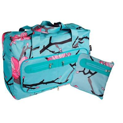 EnviroTrend FoldAway Travel Duffel Foldable Compact Bag - 2 Designs