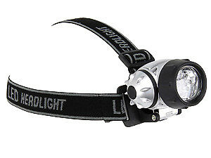 LED-Headlight GRUNDIG LED-Stirnlampe, 7 LEDs