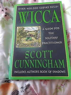 Wicca: A Guide for the Solitary Practitioner by Scott Cunningham (Paperback, 19…