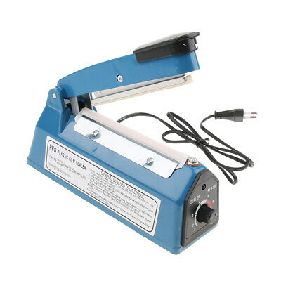 8-Level Heat Sealer Plastic Bag Sealing Machine Europlug 220V, 4''