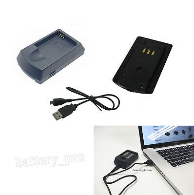 USB Battery Charger for CANON NB-4L CB-2LV IXY Digital 55 60 70 80 90 Camera New