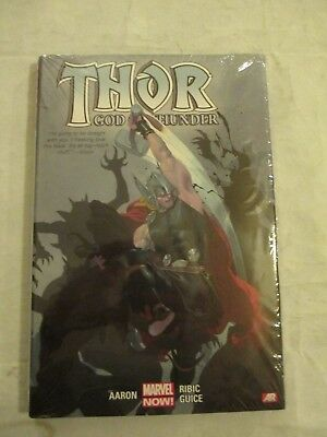 Thor God of Thunder  Vol1 Marvel Now Hardback  Aaron,Ribic,Guice