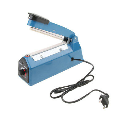 Heat Sealer Plastic Bag Sealing Machine Commercial Type Europlug 220V, 4''