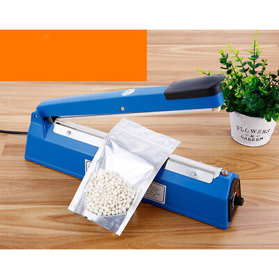 8-Level Shift Heat Sealer Plastic Bag Sealing Machine US Plug 220V, 13''