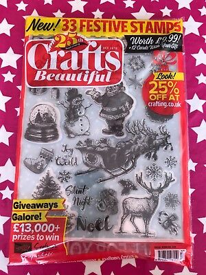 *2 COPIES LEFT* OCTOBER 2018 25th Anniversary issue of Crafts Beautiful magazine