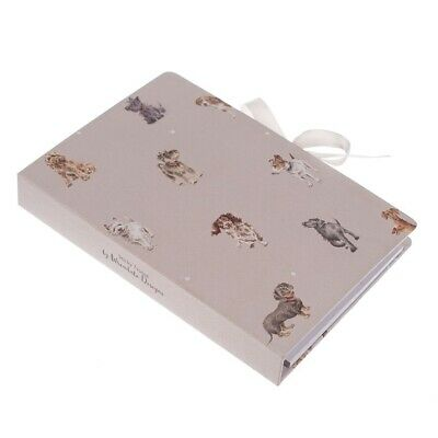 Wrendale Designs A Dogs Life Notepad – Notebook with Sticky Notes and Pencil