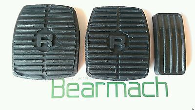Land Rover, Range Rover Classic, 300tdi, Rubber Pedal Cover Set, Brake, Clutch