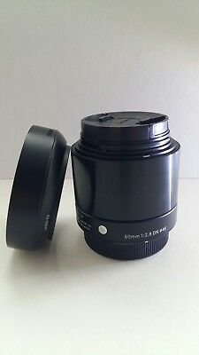 Sigma 60mm f2.8 'A' micro four thirds fit
