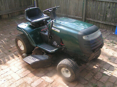 Sears Craftsman Lawn Tractor 17 5 Hp 6 Speed Electric Start
