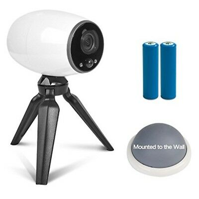 Wire Free Battery Powered IP Camera 720p Wireless Home Security for iOS Android