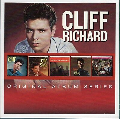 5 Original Album Series = Cliff Richard