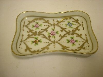 VINTAGE LIMOGES DECOR  MAIN PORCELAIN trinket dish